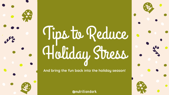 Tips to Reduce Holiday Stress
